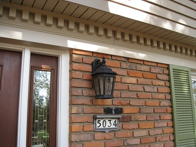 Siding, Soffit, Dentil Moulding
