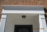 Beaded Vinyl Soffit & Crosshead